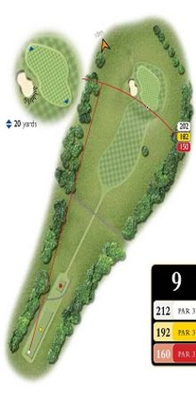 Hole 9 Map