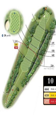 Hole 10 Map