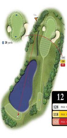 Hole 12 Map